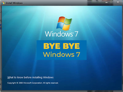 WINDOWS 7 OBSOLÈTE EN 2020