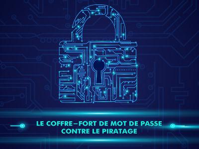 Le coffre-fort pour protéger vos mots de passe, la solution contre le piratage